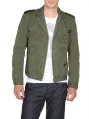 Diesel Men's Jackets Green JENOVO 00HWJ